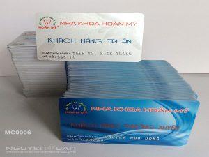 Membership card MC0006