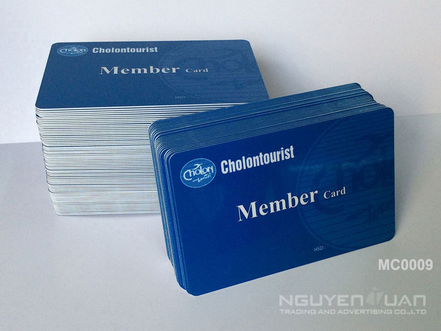 Membership card MC0009