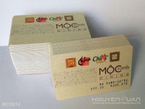 Membership card MC0014