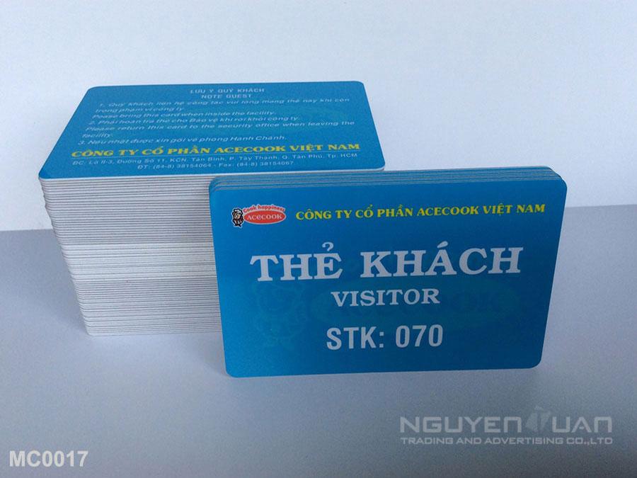 Membership card MC0016