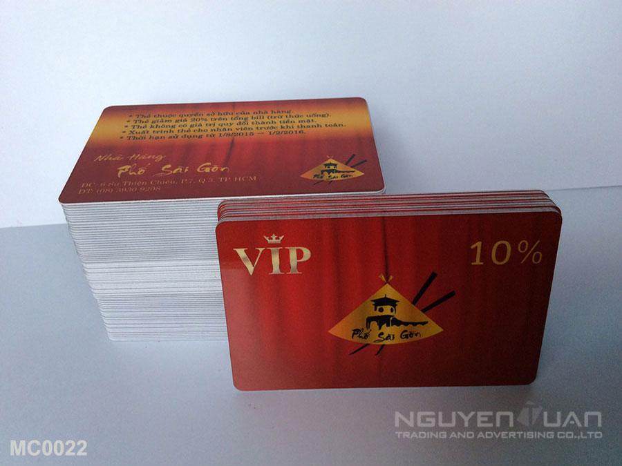 Membership card MC0022