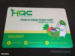 Membership card MC0028