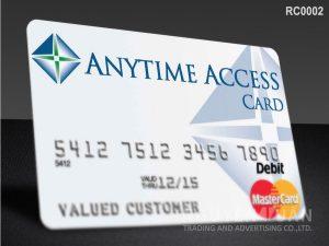 RFID card RC0002