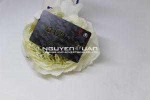 printed plastic card