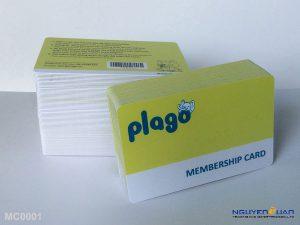membership card MC0001