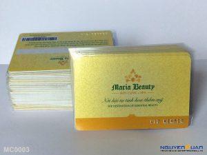 Membership card MC0003