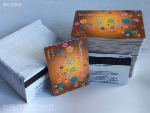Membership card MC0005
