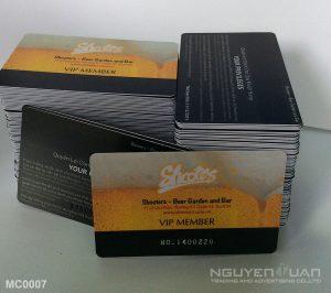 Membership card MC0007