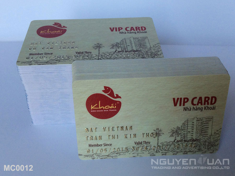 Membership card MC0012