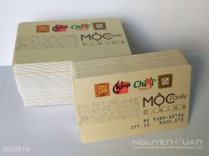 Membership card MC0014