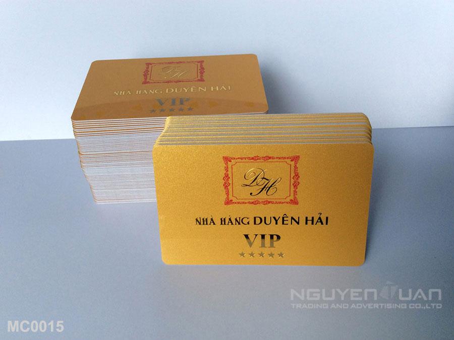 Membership card MC0015
