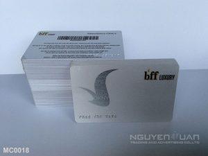 Membership card MC0018