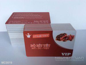 Membership card MC0019