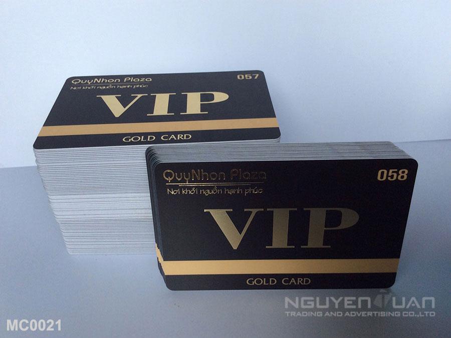 Membership card MC0021