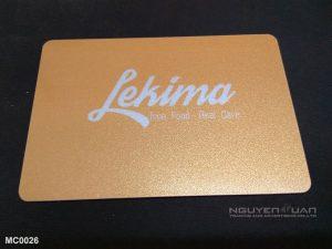Membership card MC0026