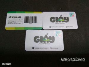 Membership card MC0029