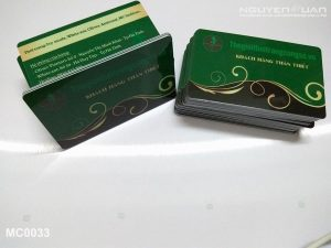 Membership card MC0033